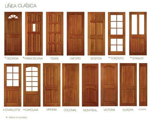 Puertas s lidas de lenga de ignisterra for Modelo de puertas para habitaciones modernas